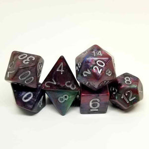 Chromatic Blood Dice Set