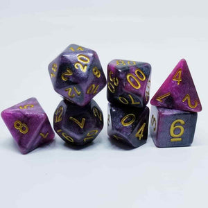 Cosmic Dream 7 Dice Set