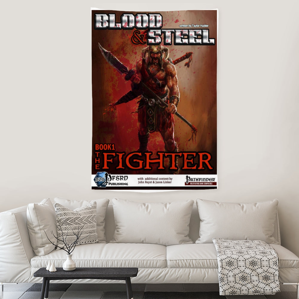 Blood & Steel Book 1 Wall Hanging