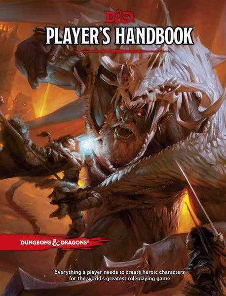 Player's Handbook: Dungeons & Dragons, 5th Edition (Hardcover)