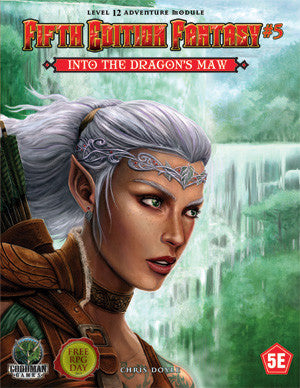 Dungeon & Dragons Adventure - Fifth Edition Fantasy #5: Into The Dragon's Maw
