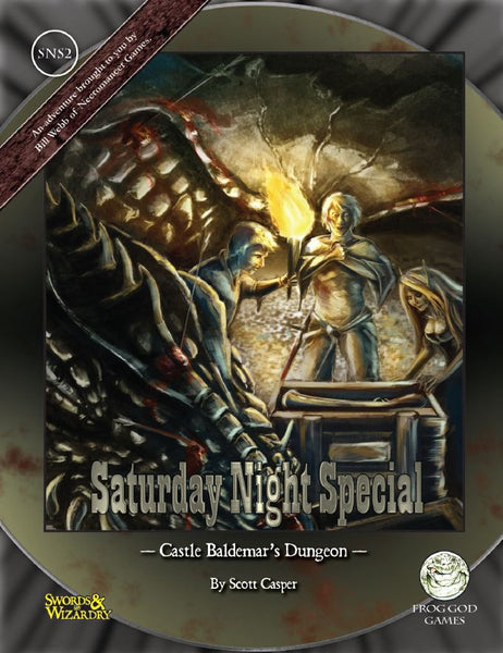 Saturday Night Special 2: Castle Baldemar's Dungeon (PDF Only)