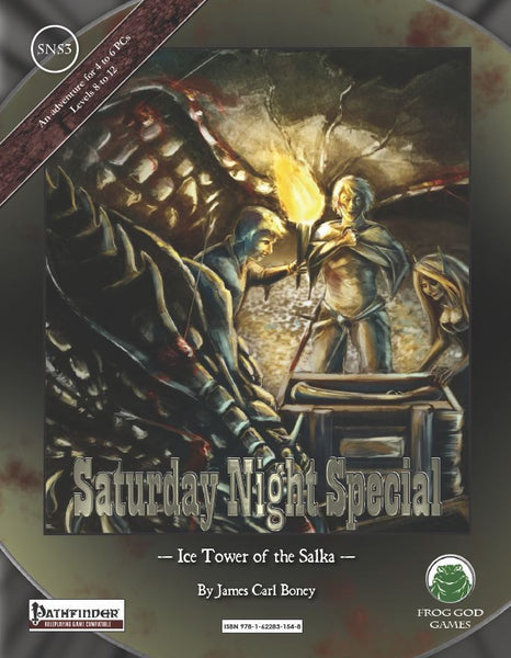 Saturday Night Special 3: Ice Tower of the Salka (PFRPG)