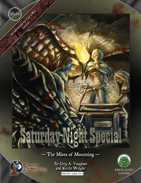 Saturday Night Special 4: The Mires of Mourning (PDF Only)
