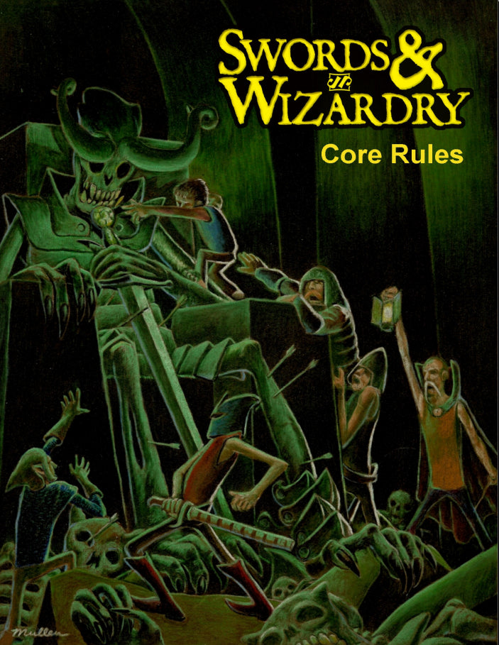 Swords & Wizardry Core Rules