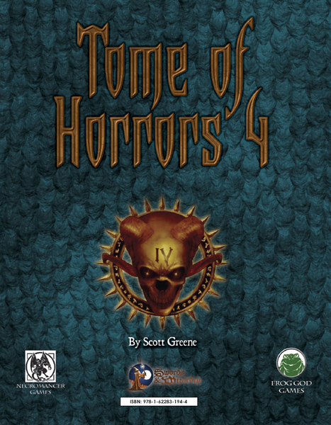 The Tome of Horrors 4 (PDF Only)