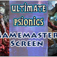 Psionics GM Screen