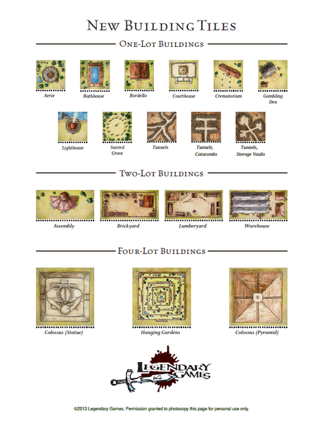 Ultimate Rulership Building Tiles