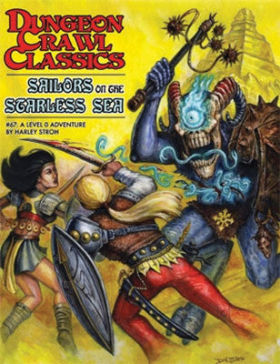 Dungeon Crawl Classics #67 Sailors On The Starless Sea (LIMITED Artist's Choice Edition)