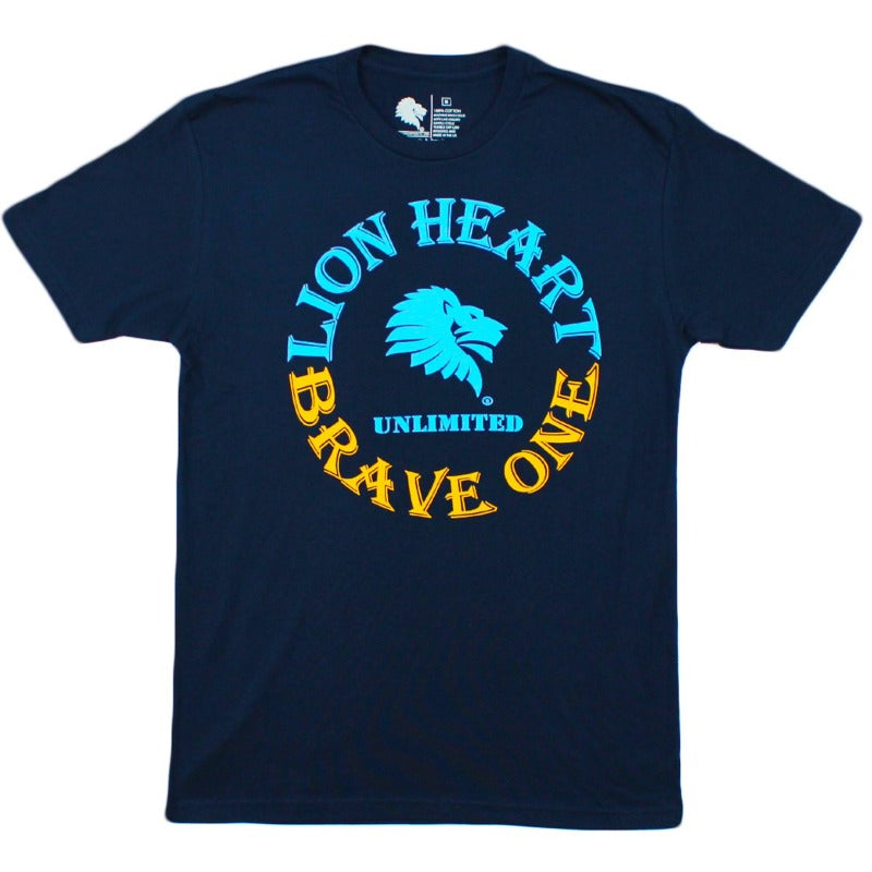 Lion Heart Unlimited Brave One Tee-T-Shirt-Lion Heart Unlimited