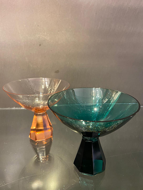 Art Deco Small Cocktail Bowls
