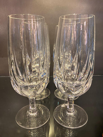 Lead Crystal Beer Glasses