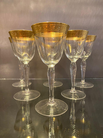 1930s Handmade Port / Dessert Wine Glasses