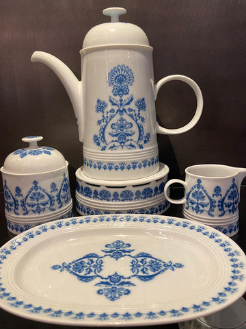Blue & White Breakfast Set by Melitta