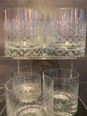 1960s Rosenthal Whisky Glasses Pairs