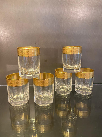 1930s Moser Shot Glasses