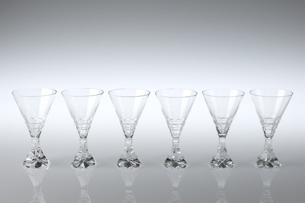 Art Deco Champagne Goblets