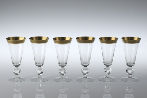 Theresienthal Champagne Goblets