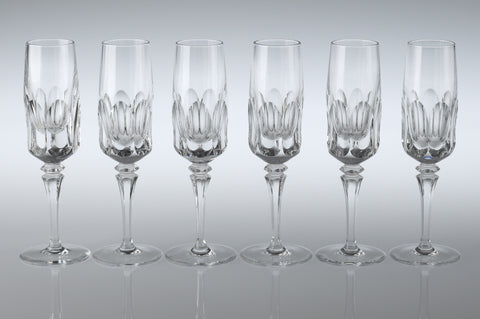 1960s Port Glasses