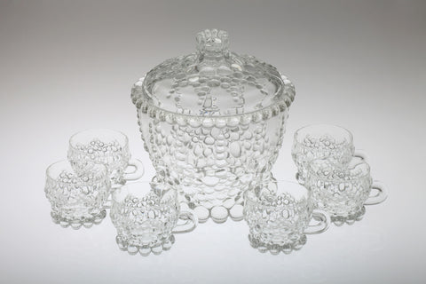 1970s Punch Bowl Set