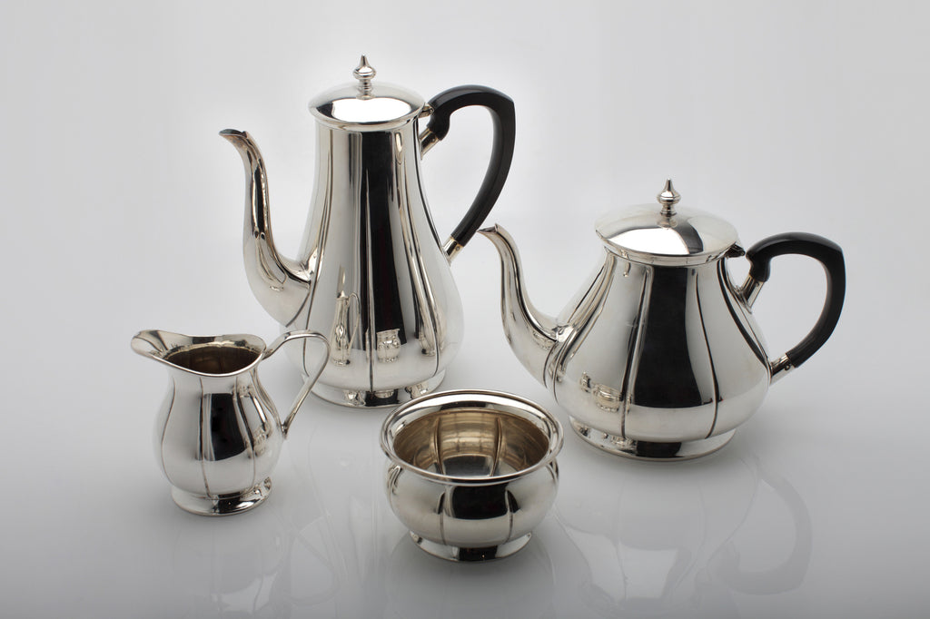 1950s Silver Plated Tea/Coffee Set & 1950s Silver Plated Tea/Coffee Set | Modern Times
