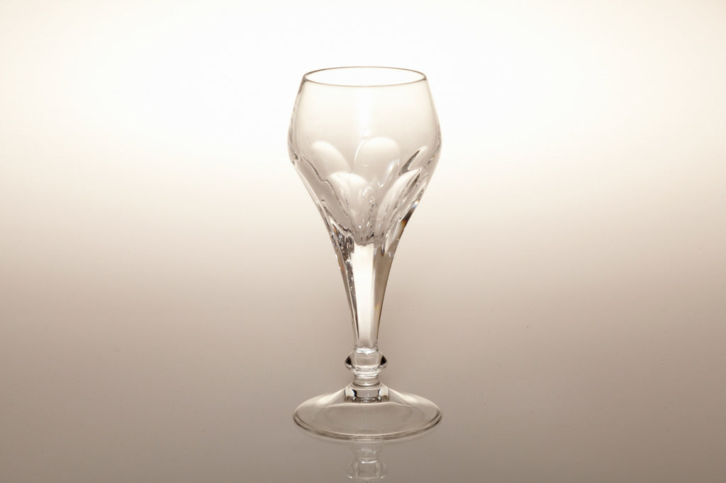 1960s Heavy Lead Crystal Port Glasses