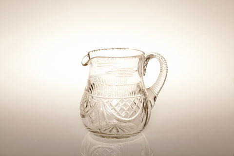 1930s Lead Crystal Water Jug
