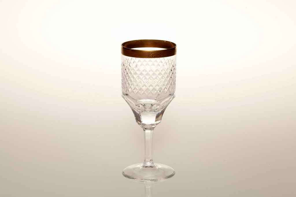 1930 Lead Crystal Port Glasses