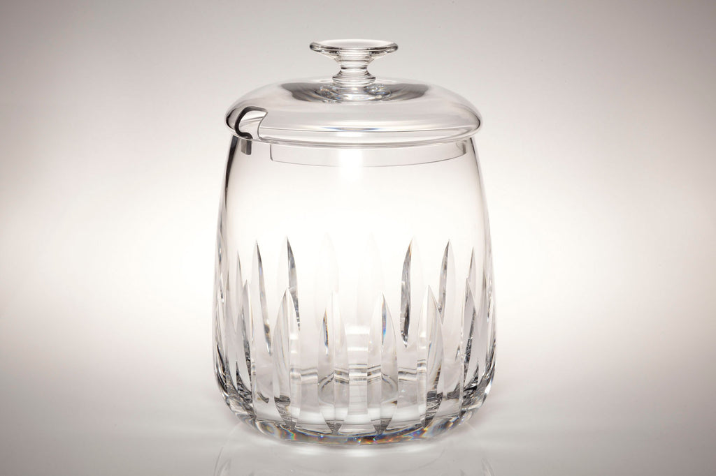 1960s Lead Crystal Punchbowl