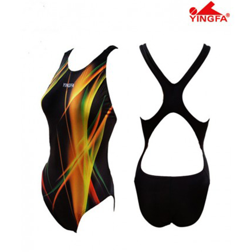 Gal's Dive-Suit  - Performance - Black/Gold
