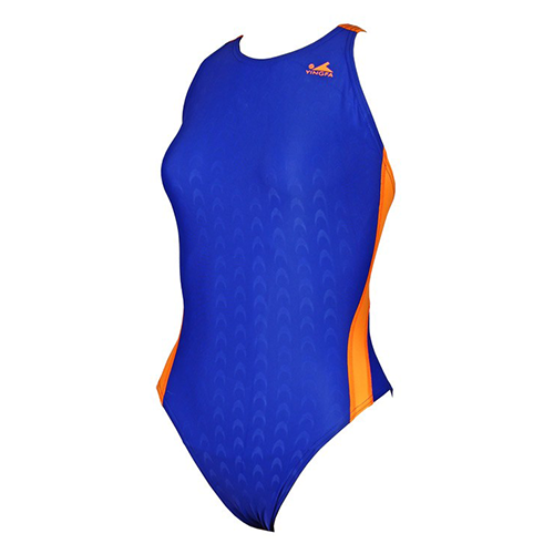 Gal's Yingfa Shark-Skin Dive-Suit - Blue/Orange