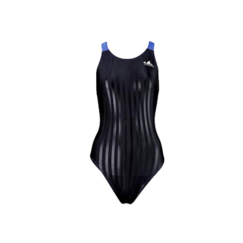 Gal's Yingfa Lightning Shark-Skin Dive-Suit - Black/Blue