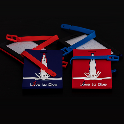 Luggage/Diver Bag Tags 2.0