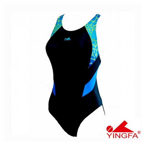 Gal's Yingfa Dive-Suit – Black/Blue