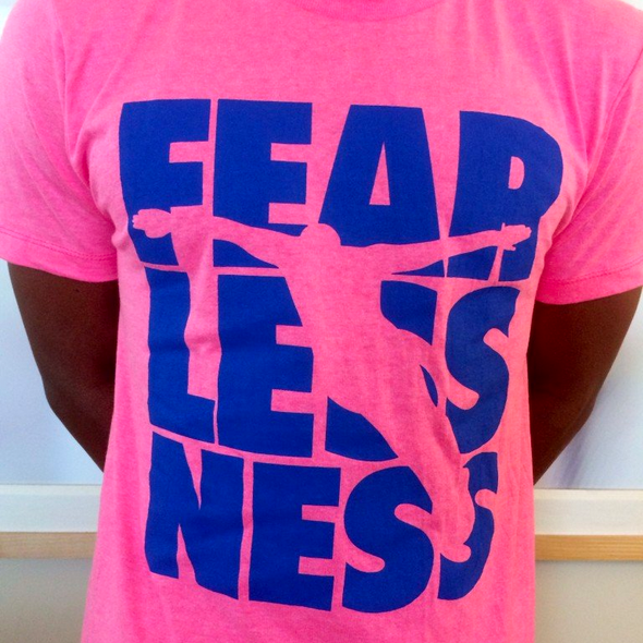 Neon Pink Fearlessness T-Shirt