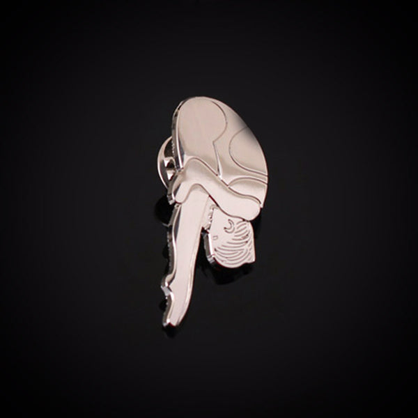 Diving Bag Lapel Pin - Male & Female