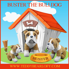 Stuff Your Teddy Bear by Teddy Bear Loft. Bull Dog Teddy Bear