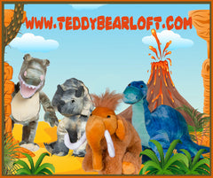 Teddy Bear Loft Stuff your own teddy bear kits dinosaurs