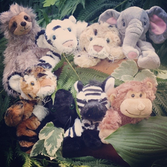 Assortment of stuff your own teddy bears