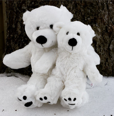 Polar bear stuff your own teddy bear by Teddy Bear Loft