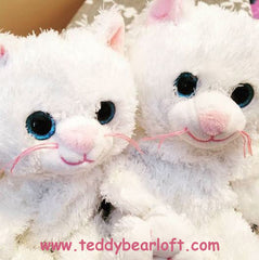 White Cat Stuff Your Own Teddy Bear Kit from Teddy Bear Loft