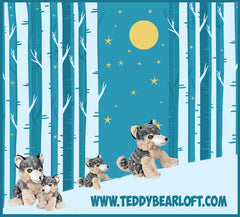Wolf stuff your own teddy bear by Teddy Bear Loft