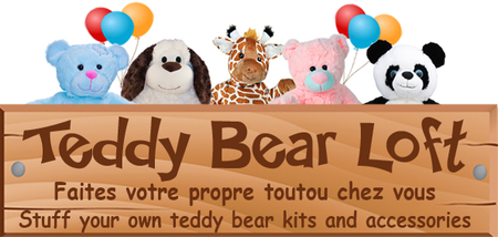 Teddy Bear Loft -Stuff Your Own Teddy Bear Parties at Home!