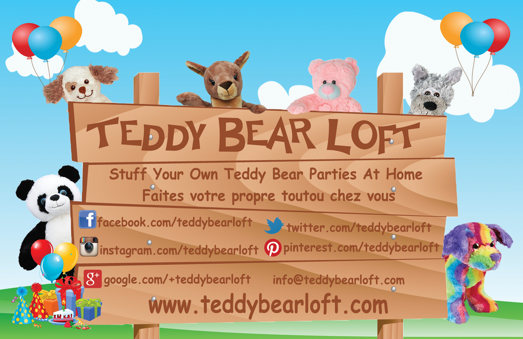 Teddy Bear Loft Stuff Your Own Teddy bear Kits