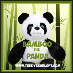 Stuff Your Own Teddy Bear Panda by Teddy Bear Loft
