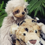 leopard and sloth stuff your own teddy bear by Teddy Bear Loft