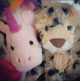 unicorn leopard stuff your own teddy bear by Teddy bear Loft Instagram