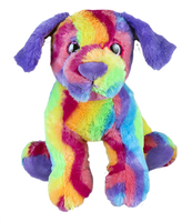 "Max the rainbow puppy 8 "" Chiot arc-en-ciel"