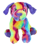"Max the rainbow puppy 16 "" Chiot arc-en-ciel"