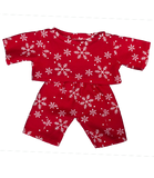 Red Snowflake PJs 8""
